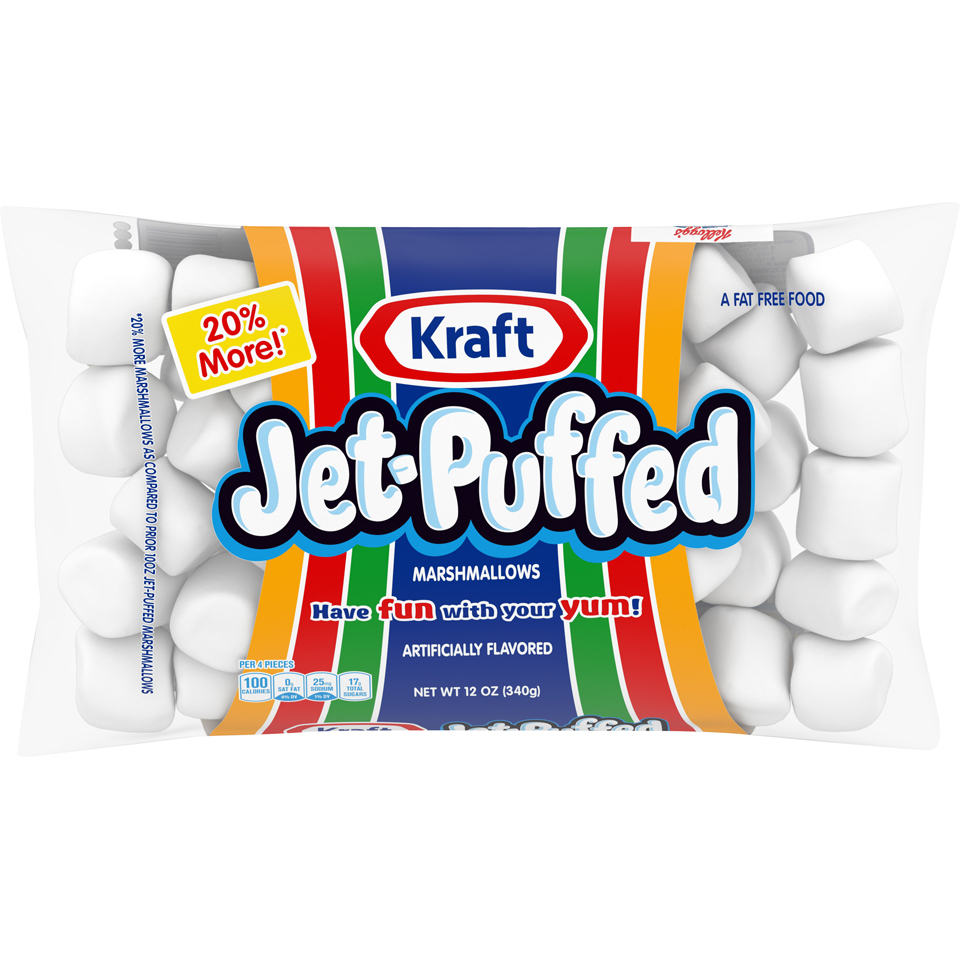 Jet-Puffed Marshmallows 12OZ 18-Pack