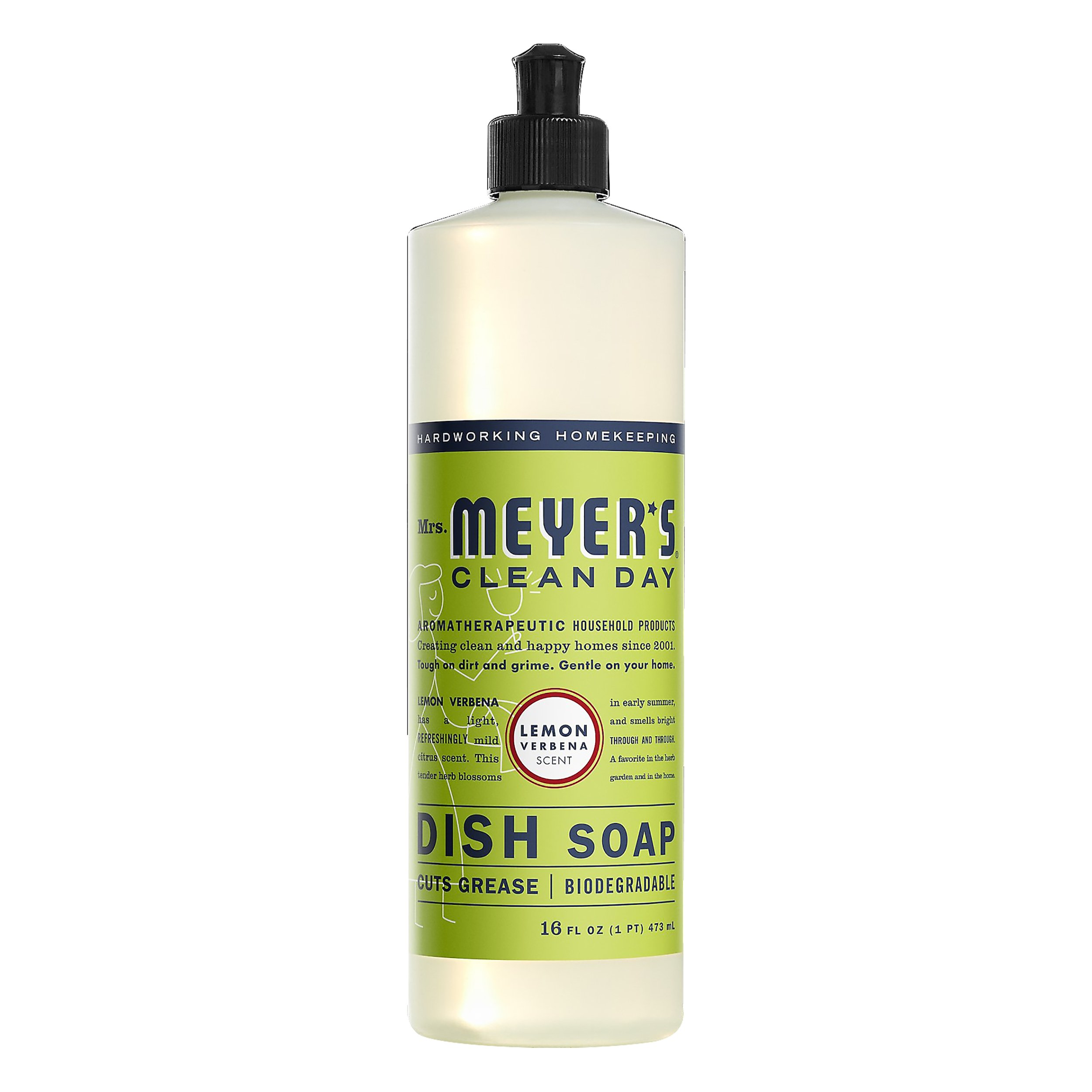 Mrs. Meyers Clean Day Lemon Verbana 16OZ 6-Pack