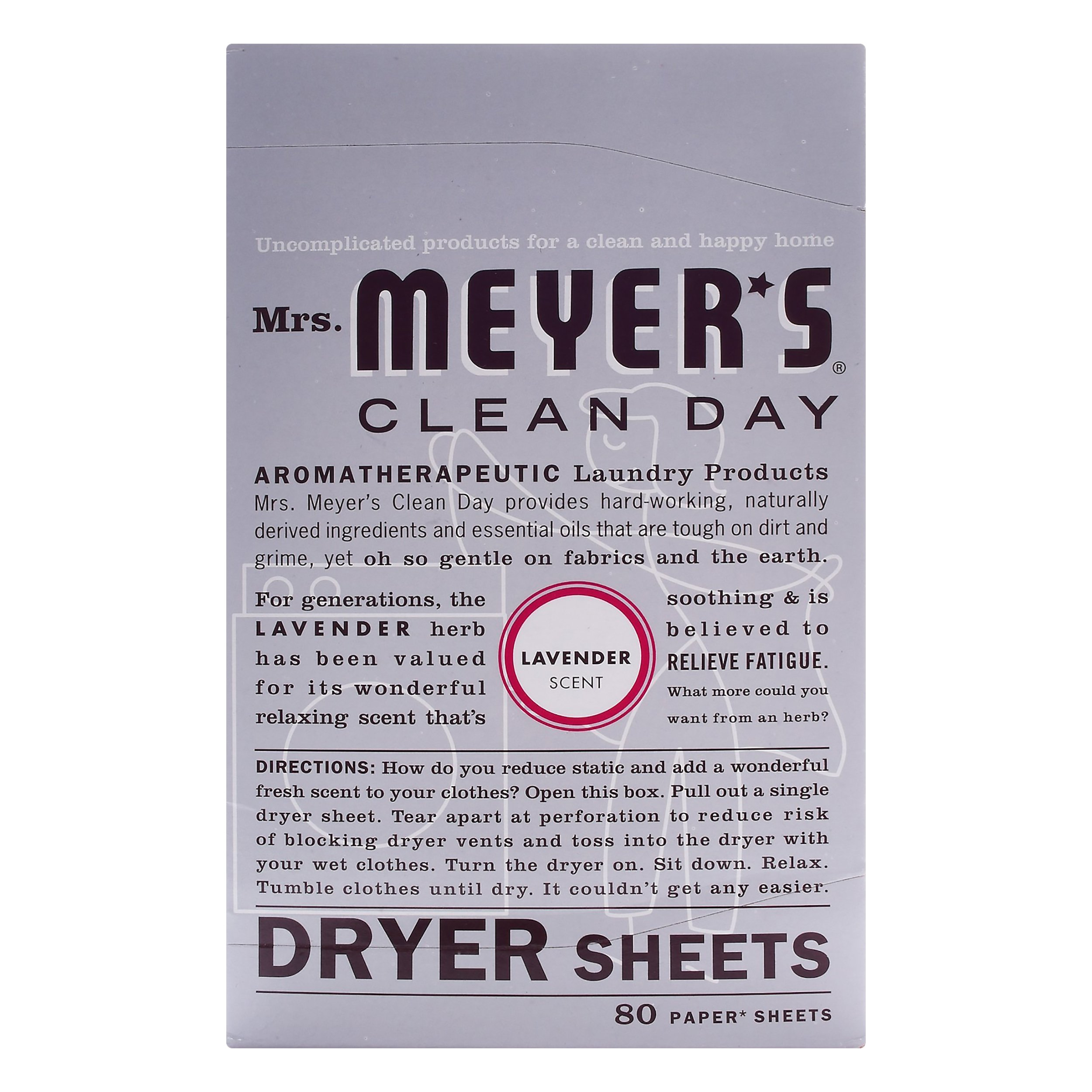 Mrs. Meyers Clean Day Lavender Dry 12-Pack