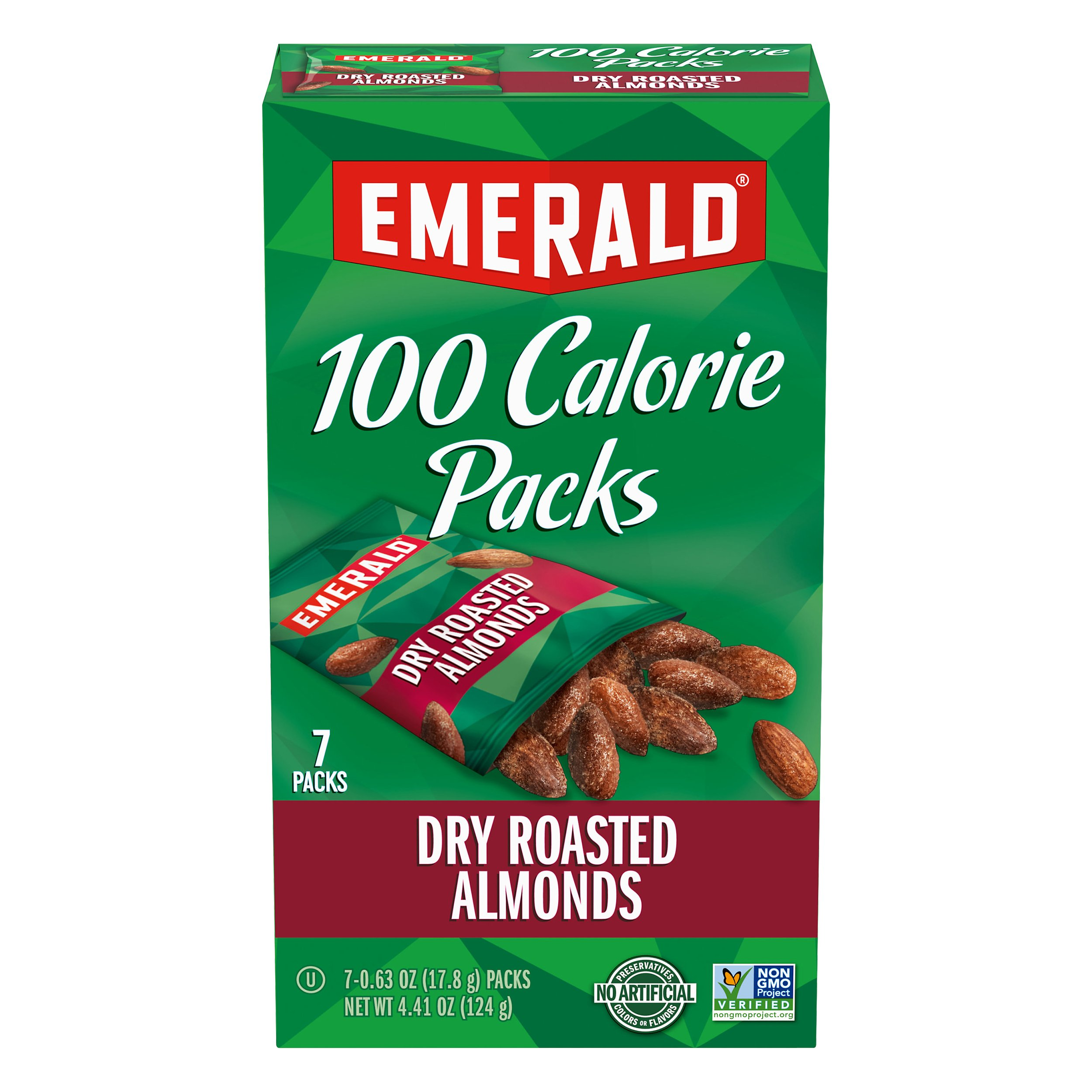 Emerald 100 Calorie Packs Dry Roaste 4OZ 12-Pack