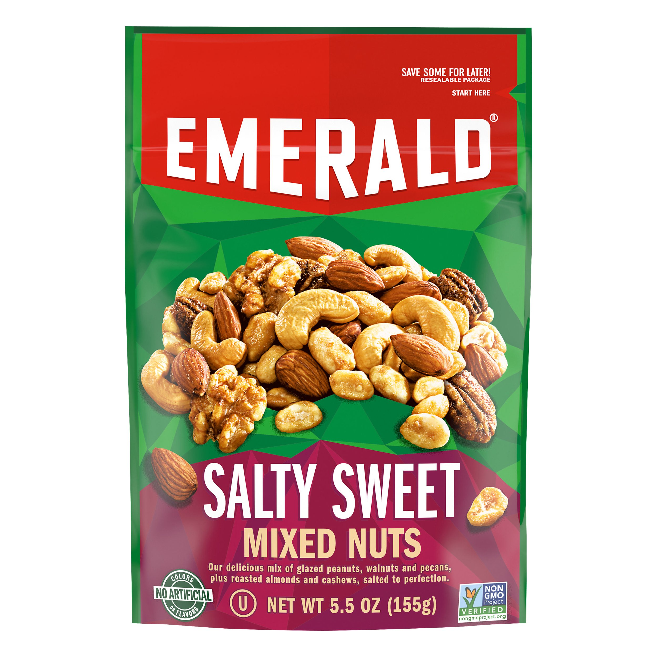 Emerald The Original Salty Sweet Mix 5OZ 6-Pack