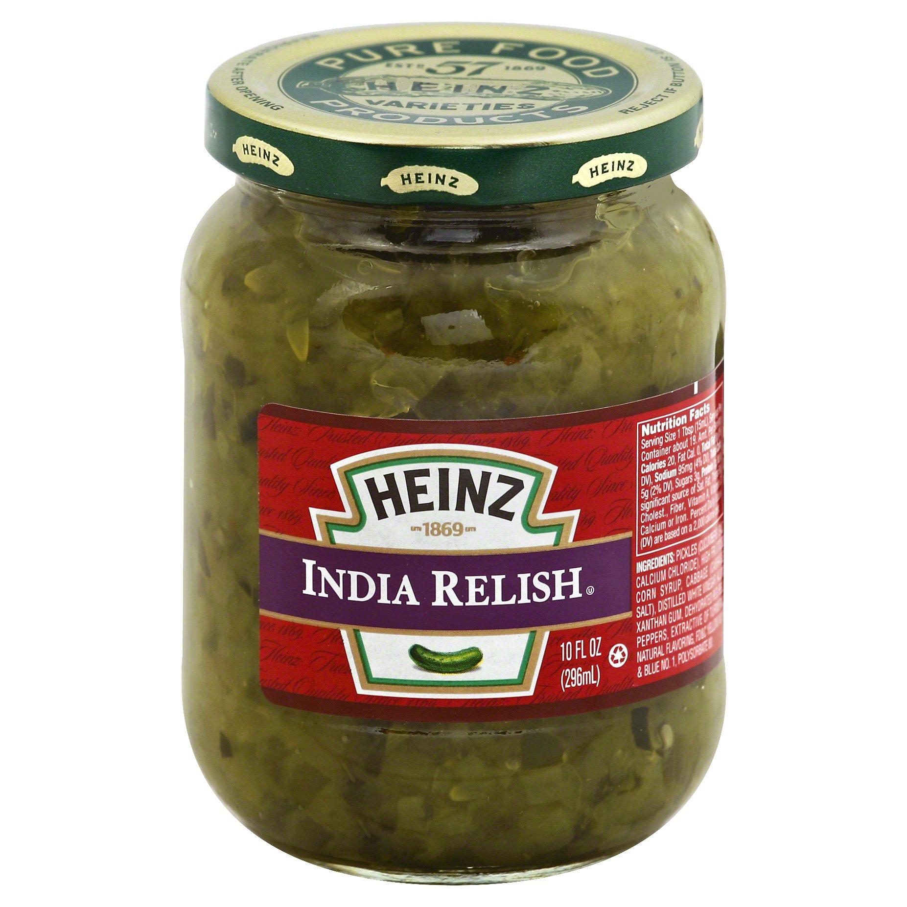 Heinz India Relish 10.0 OZ 12-Pack