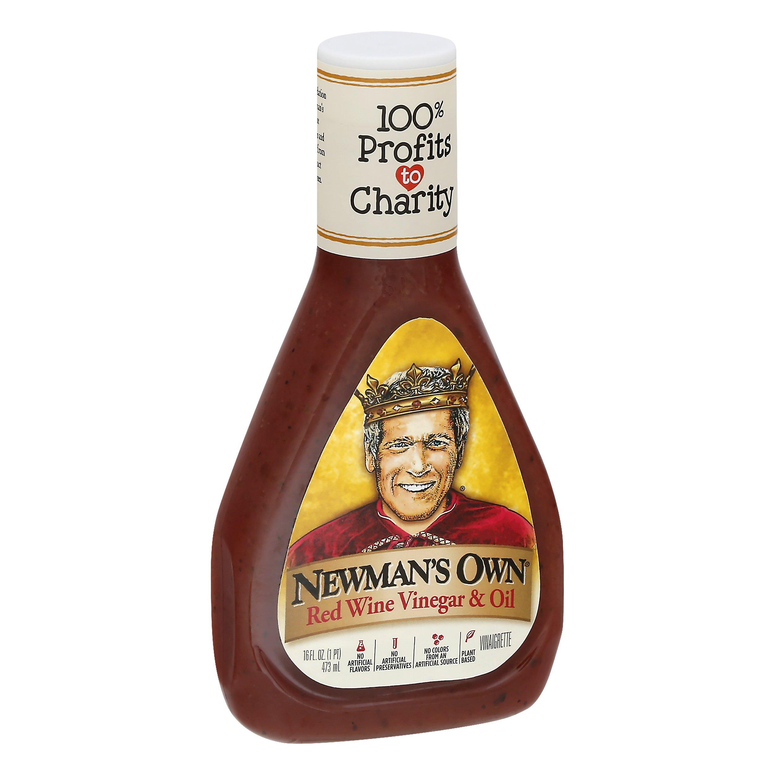 Newmans Own Red Wine Vinegar & Oil 16OZ 6-Pack