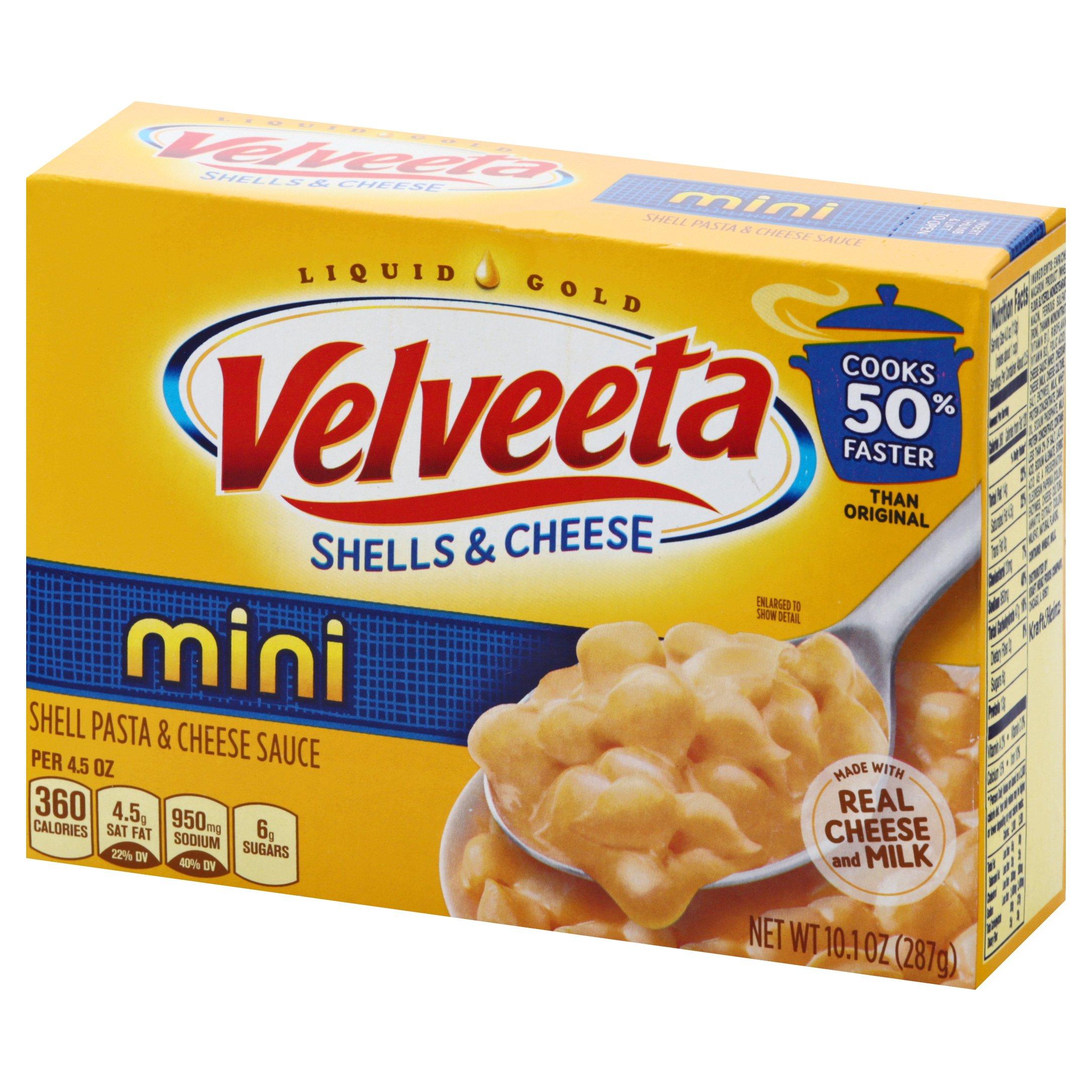 Velveeta Mini Shells Pasta & Cheese 10.1 OZ  12-Pack