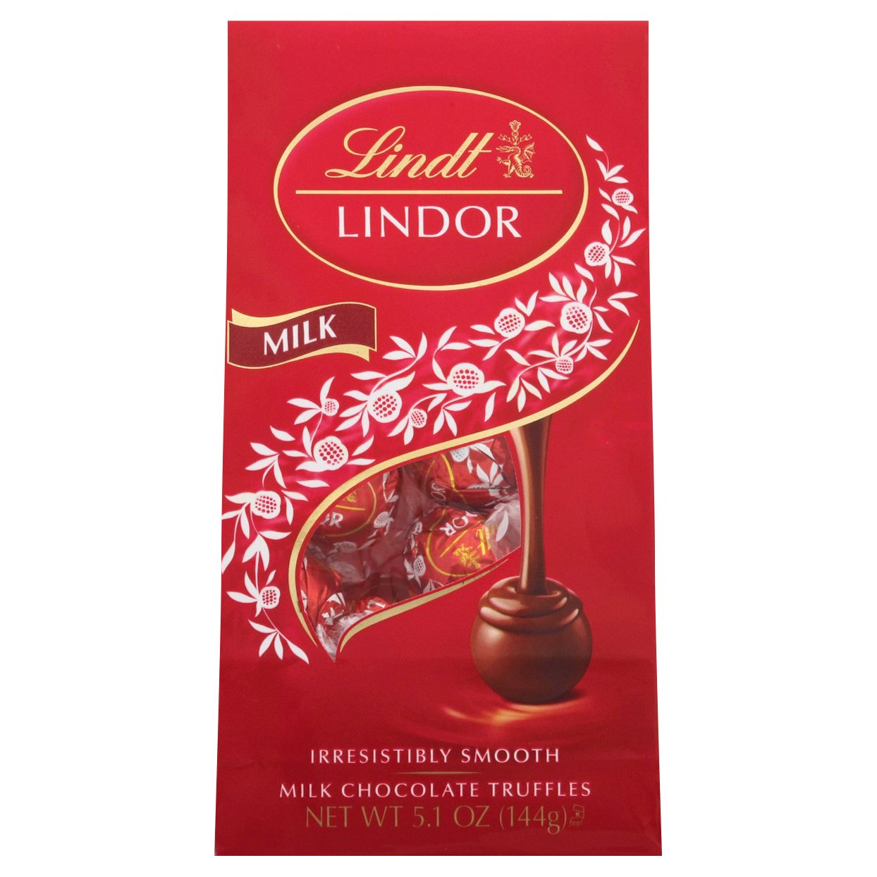 Lindt Lindor Milk Chocolate Truffles 5OZ 6-Pack