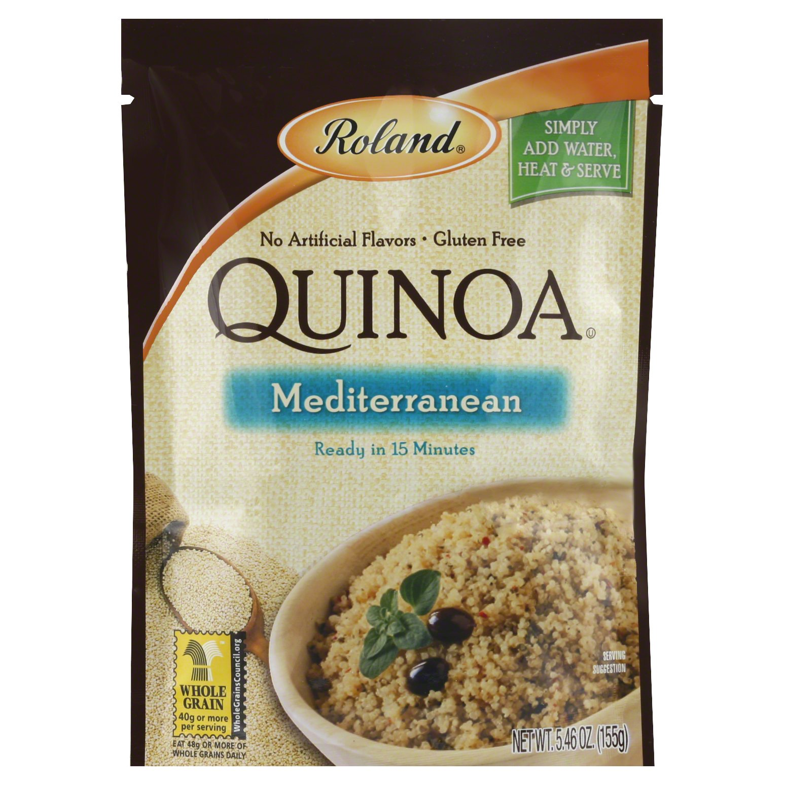 Roland Mediterranean Quinoa 5OZ 12-Pack