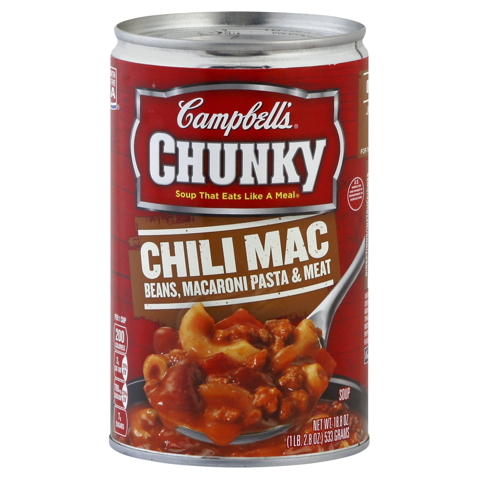 Campbells Chunky Chili Mac & Beans 18OZ 12-Pack
