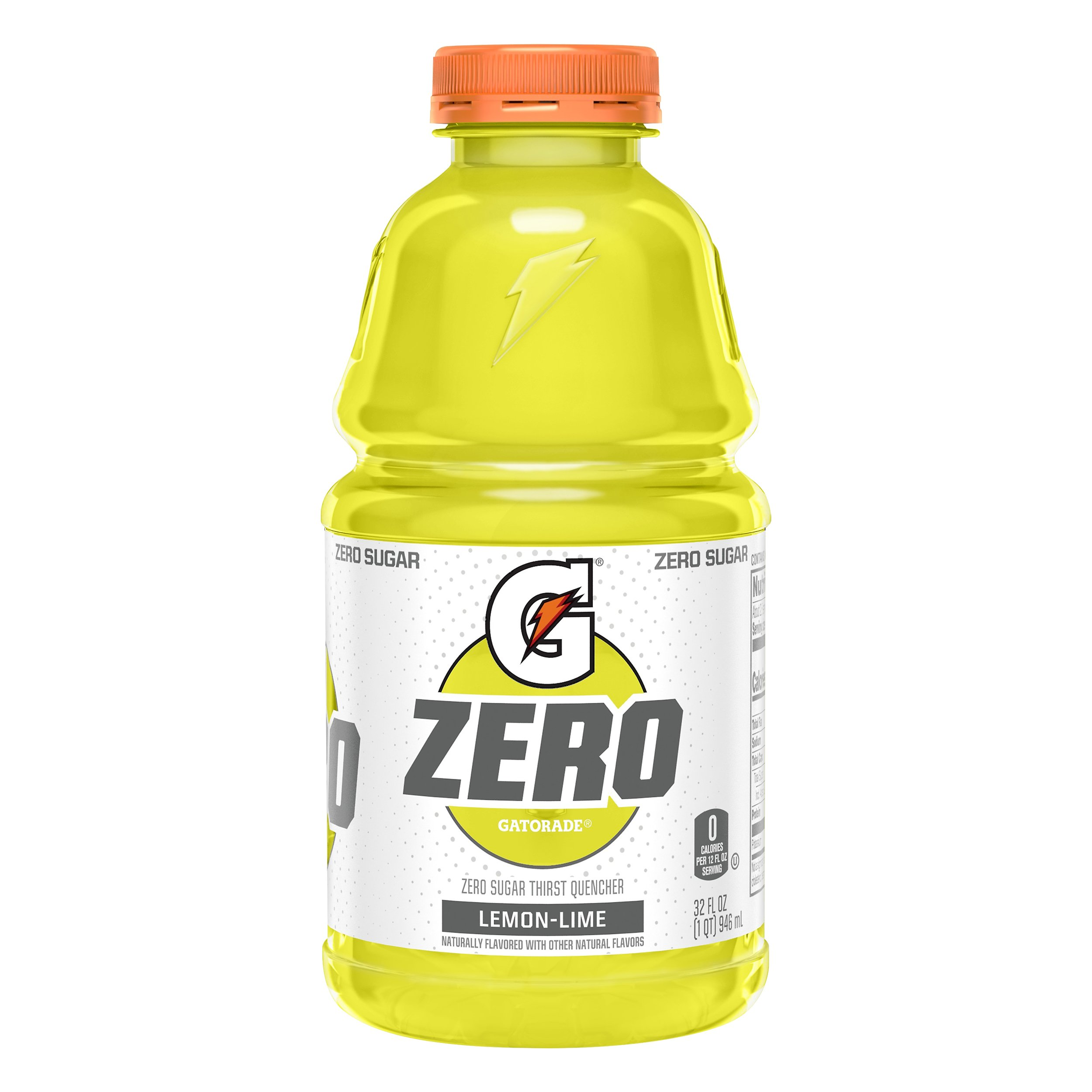 Gatorade Zero Lemon-Lime Thirst Quencher 32.0 OZ 12-Pack