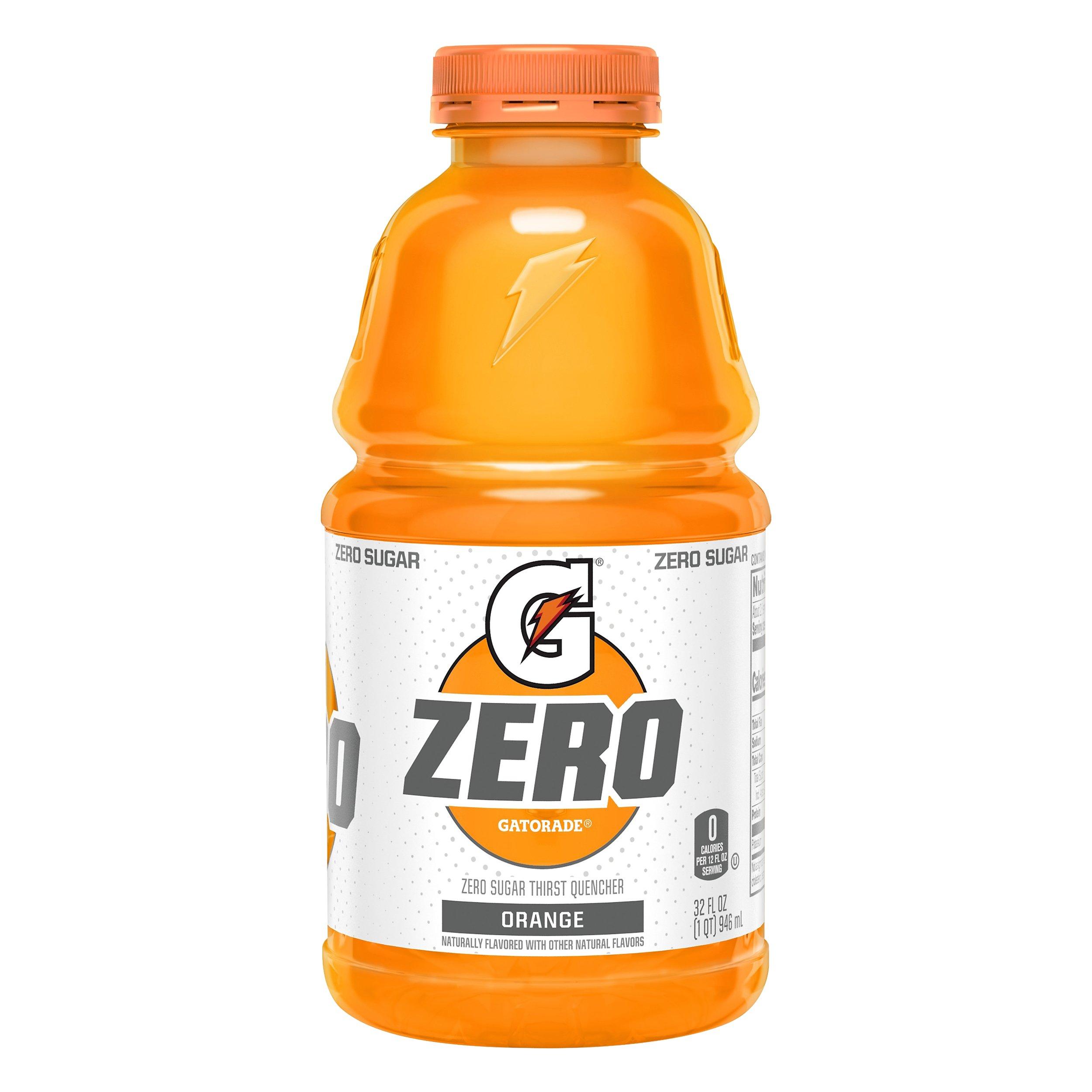 Gatorade Gatorade Zero Orange Thirst Quencher 32OZ 12-Pack