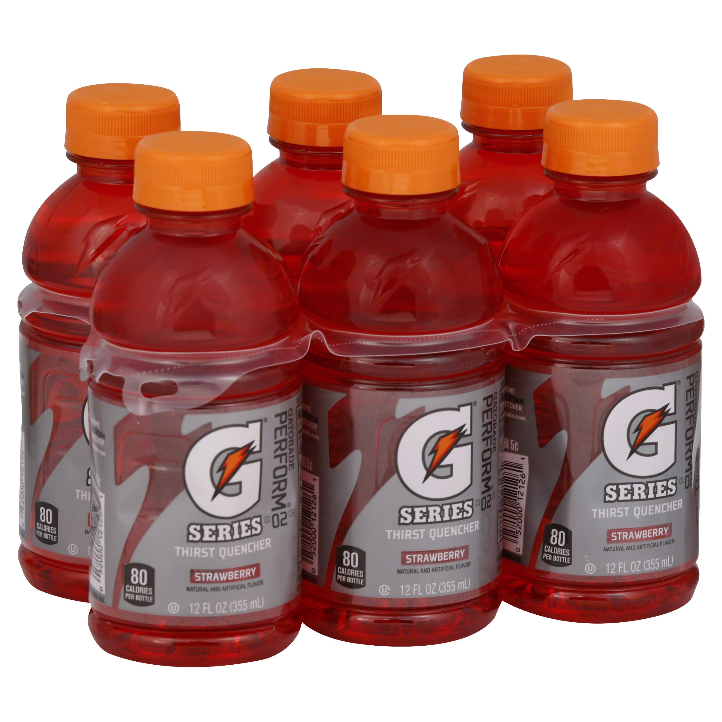 Gatorade G Series Thirst Quencher Strawberry 72OZ 4-Pack