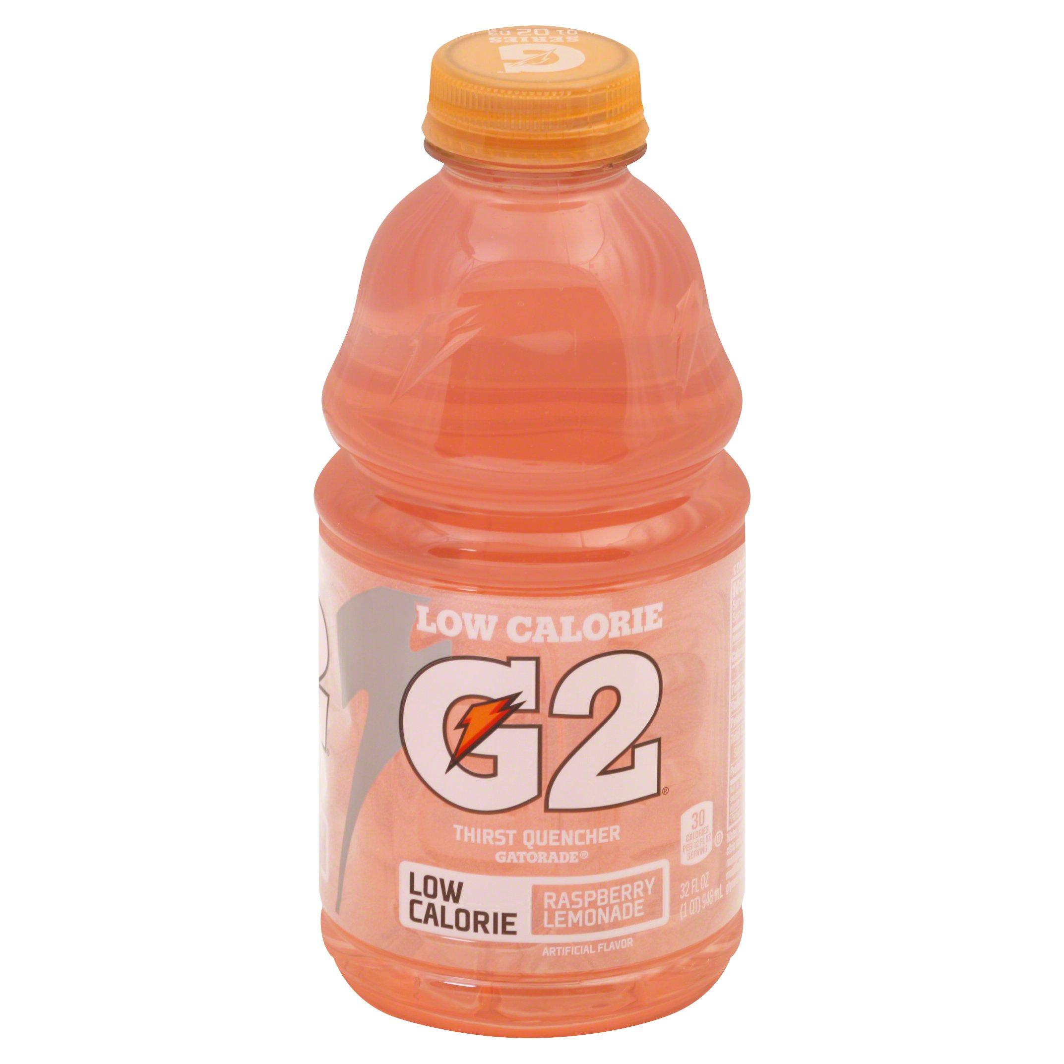 Gatorade Perform 02 Raspberry Lemonade Low Ca 32OZ 12-Pack
