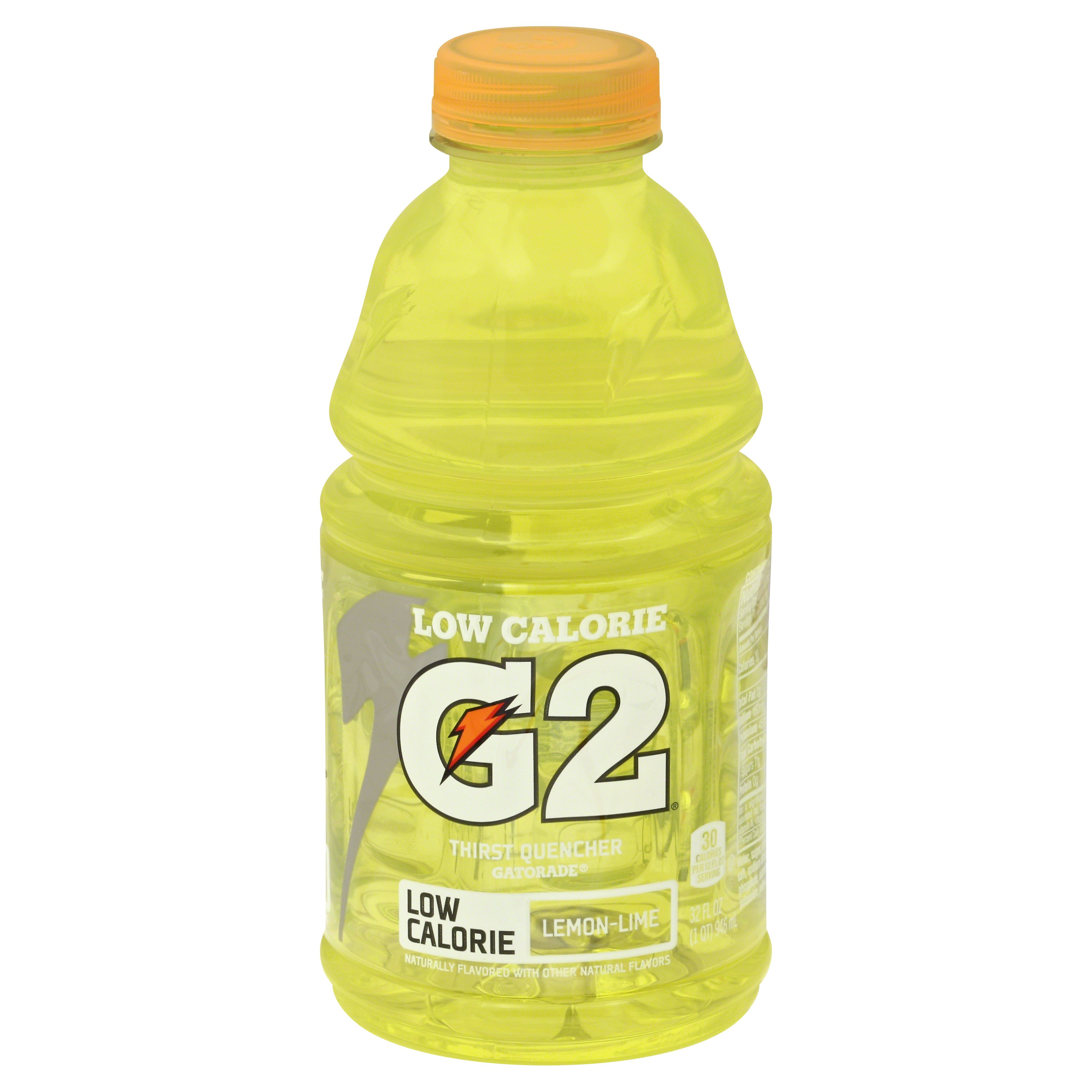 Gatorade Lemon-Lime Low Calorie Sports Drink 32OZ 12-Pack