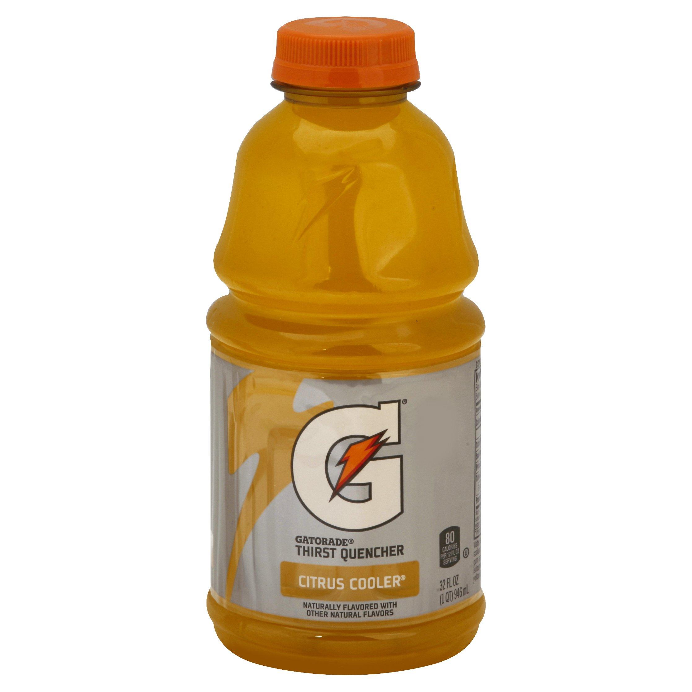 Gatorade Citrus Cooler Sports Drink 32OZ 12-Pack