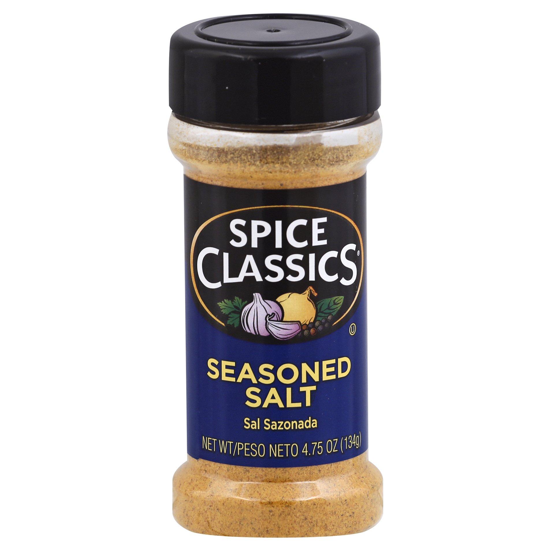 Spice Classics Seasoned Salt 4OZ 12-Pack