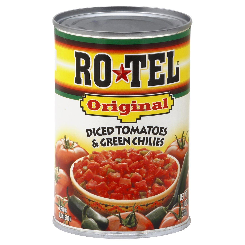 Ro-tel Original Diced Tomatoes & Gre 10OZ 12-Pack