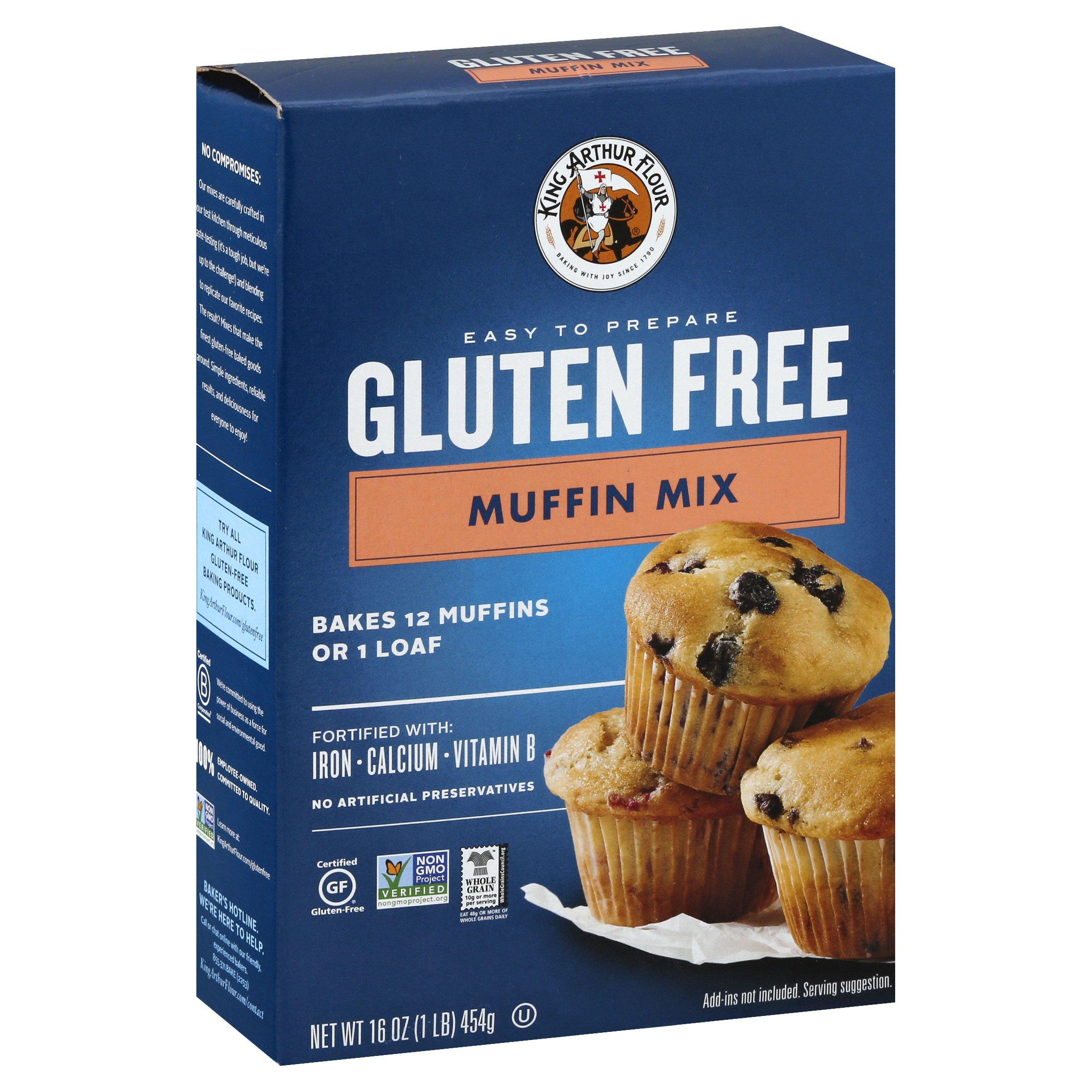 King Arthur Gluten Free Muffin Mix 16OZ 6-Pack