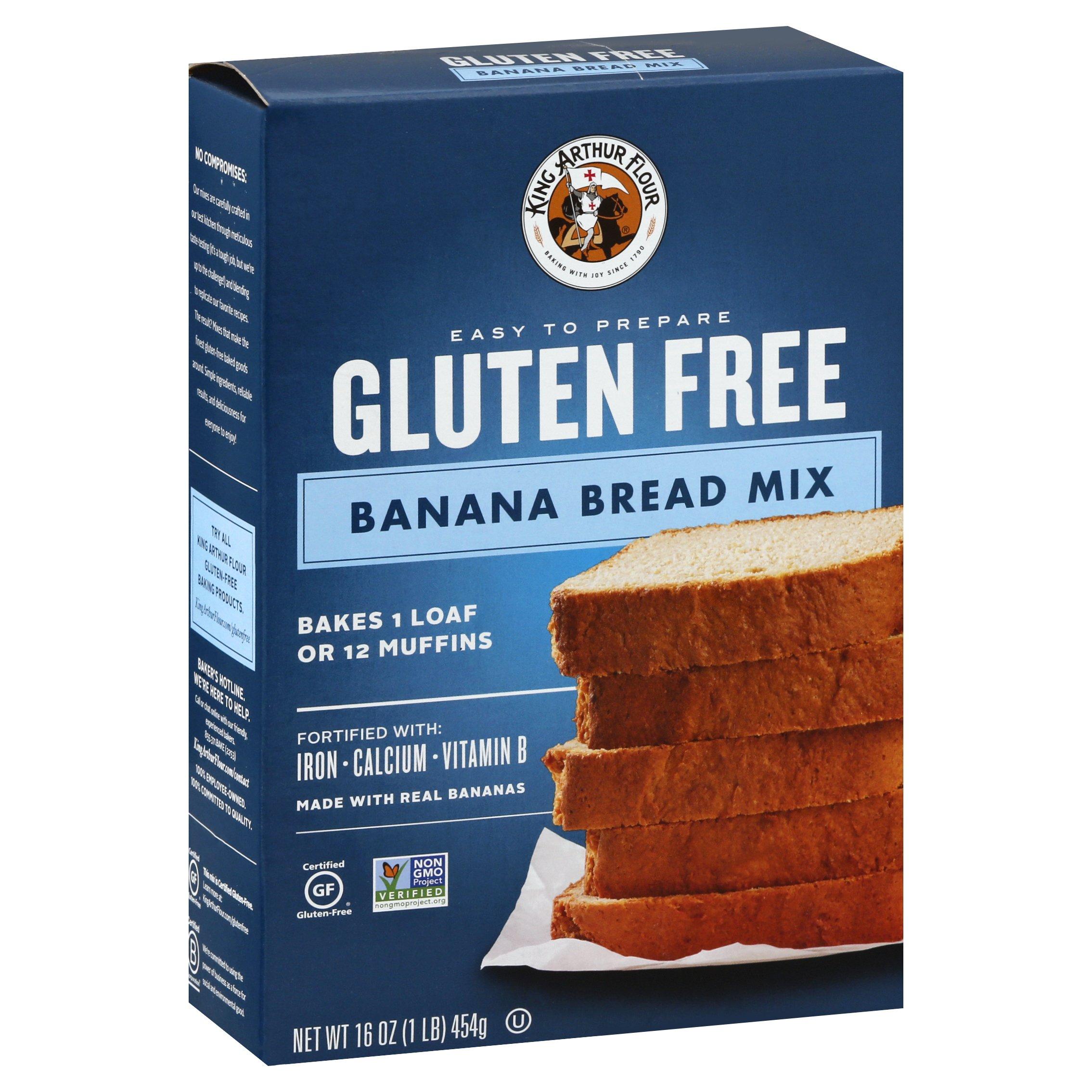 King Arthur Gluten Free Banana Bread 16OZ 6-Pack
