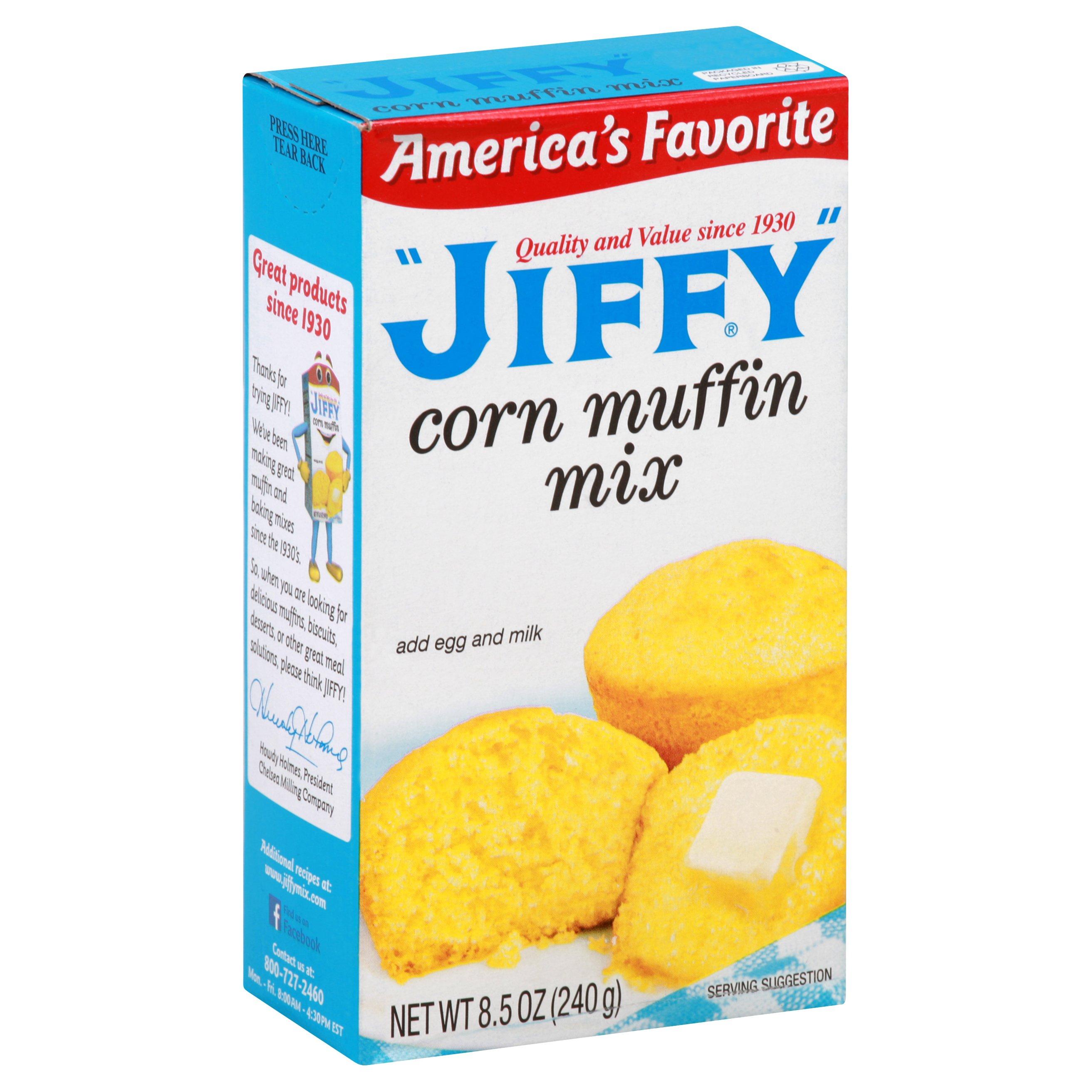 Jiffy Corn Muffin Mix 8.5 OZ   24-Pack