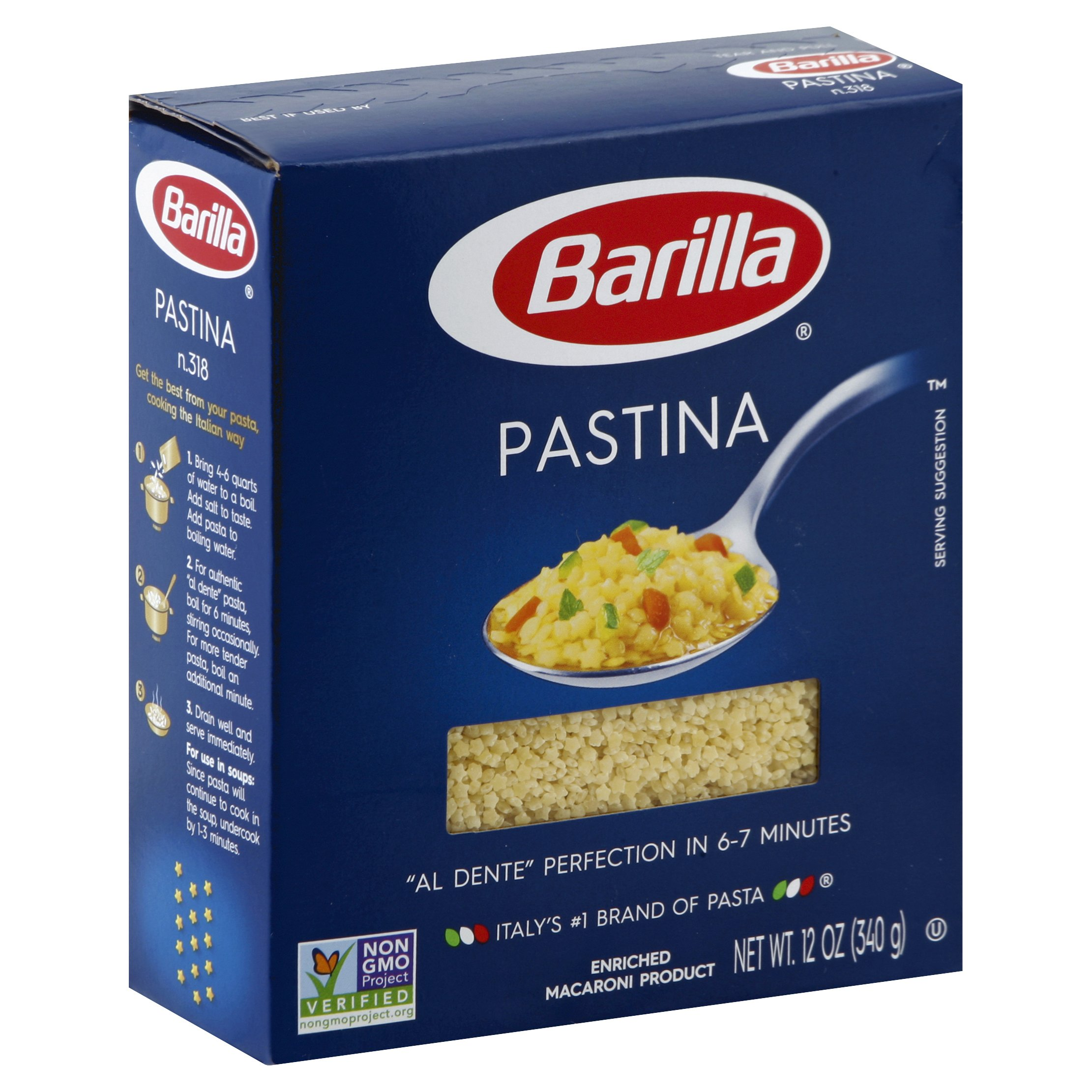Barilla Pastina 12 OZ    16-Pack