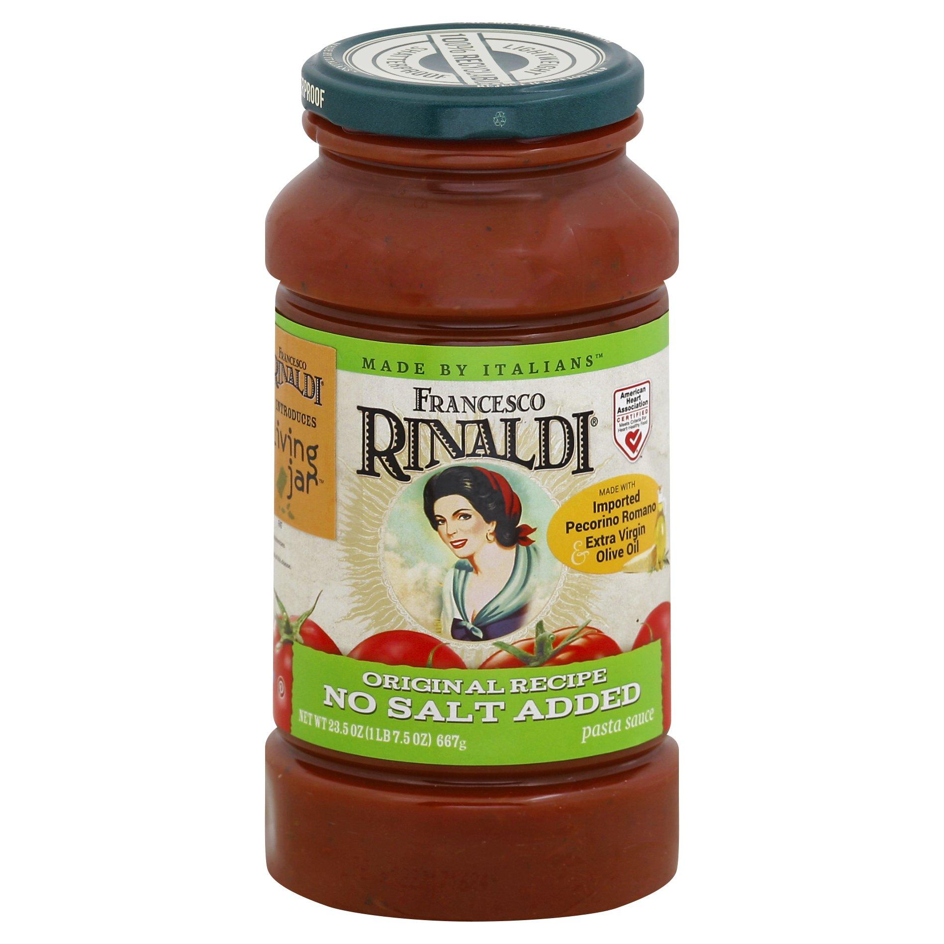 Francesco Rinal Original Recipe No Salt Added Pasta 23OZ 12-Pack